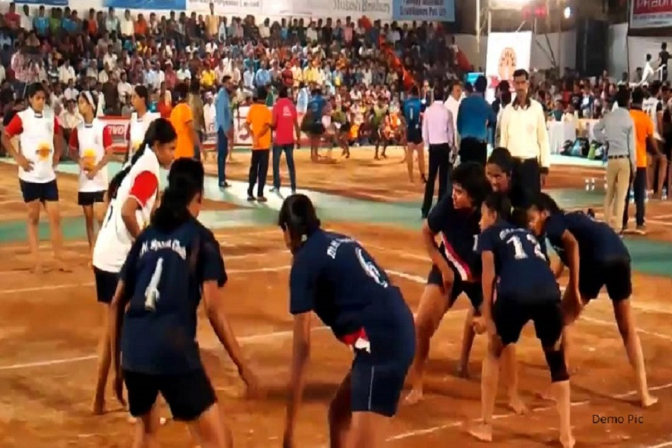 Womens Kabaddi League Semifinal Final Match Kd Singh Babu Stadium