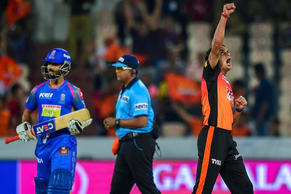ipl 11: umpire did a mistake in SRH vs RR match