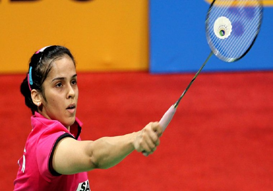 cwg 2018 saina nehwal reaches into singles final of badminton