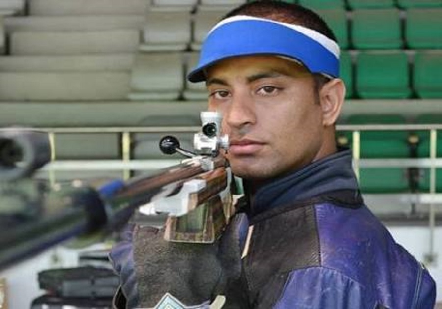 Sanjeev Rajput wins gold in mens 50m Rifle 3 Positions