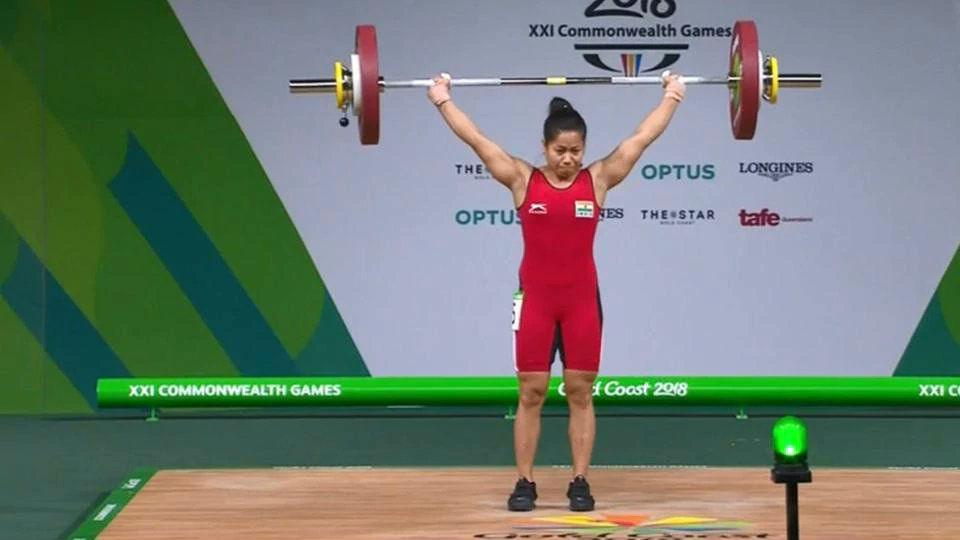 Sanjita Chanu wins 2nd gold medal for India at CWG 2018