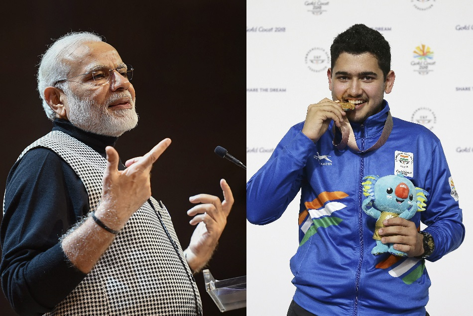 It Felt Happy That Pm Modi Spoke About My Performance At Cwg In Mann Ki Baat Anish Bhanwala