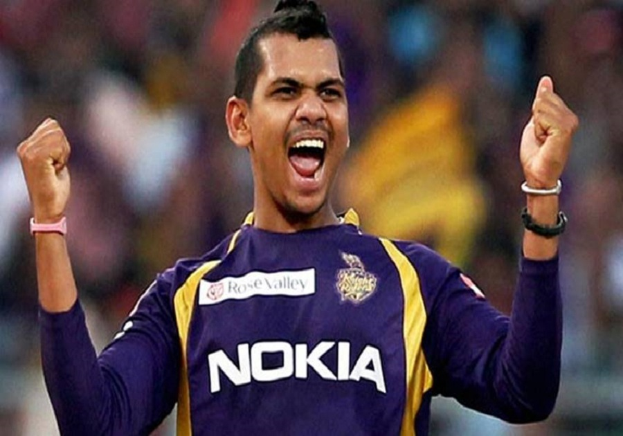 dd vs kkr: sunil narine becomes first foreign spinner to claim 100 wickets in ipl