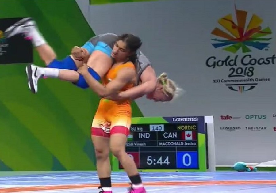 Vinesh Phogat wins gold in Womens Freestyle 50 kg Nordic