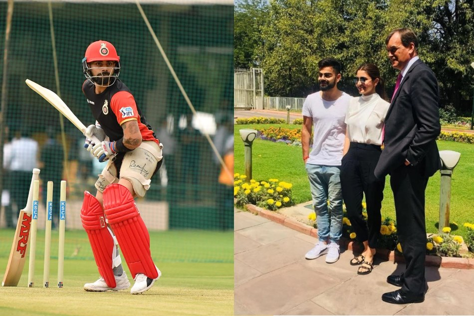 Before IPL 11 Virat Kohli, Anushka Sharma spend time in Delhi