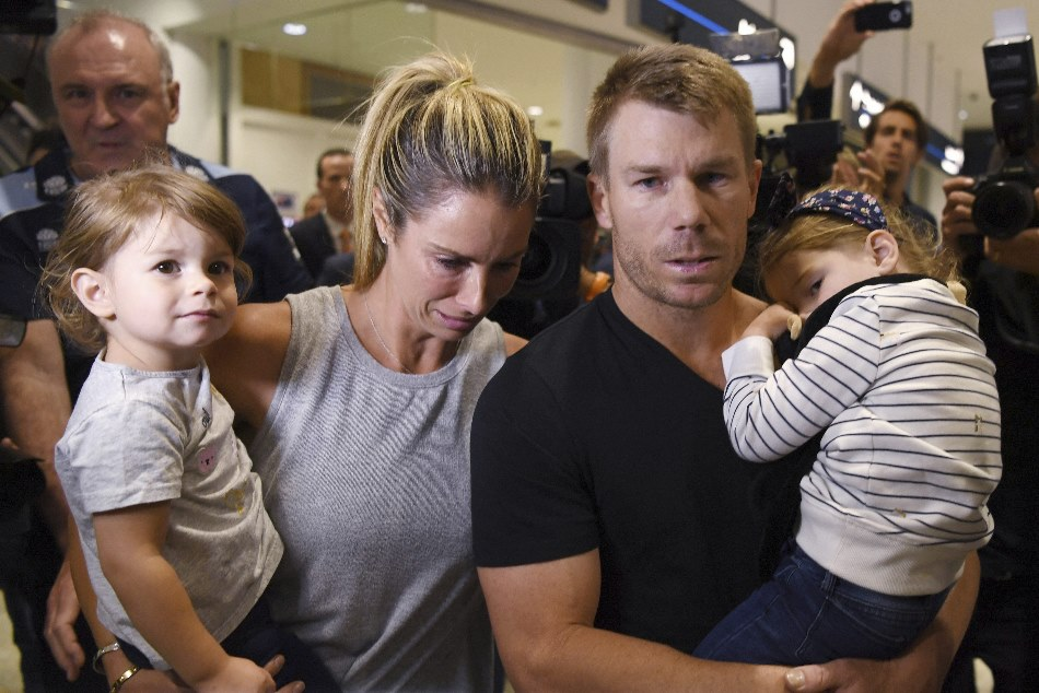 David Warner is seriously, seriously struggling, says wife Candice