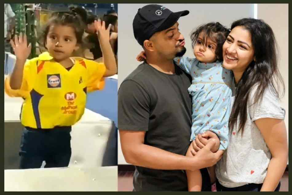 Suresh raina daughter dancing on break up song