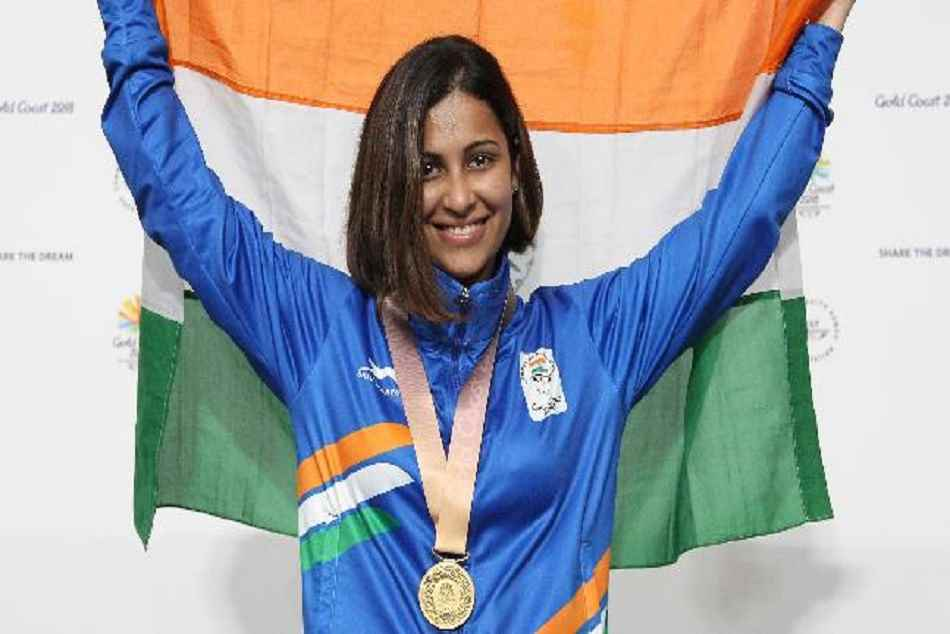 Heena Siddhu Wins Gold Medal Shooting