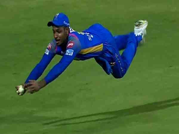 Sanju Samson Super Catch Sends Hardik Pandya Back
