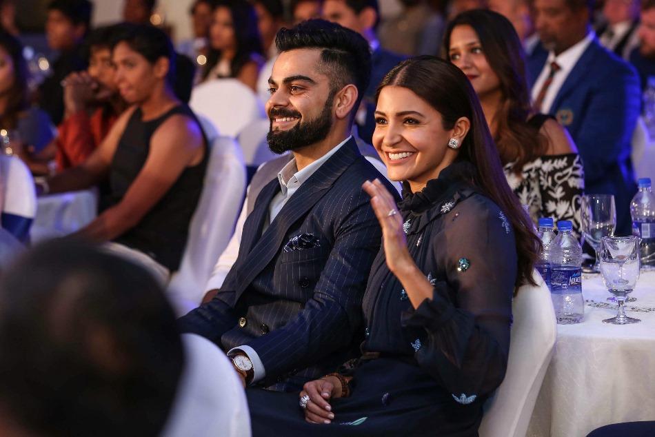 Anushka Sharma Presence Made It More Special Says Virat Kohli After Receiving Polly Umrigar Award