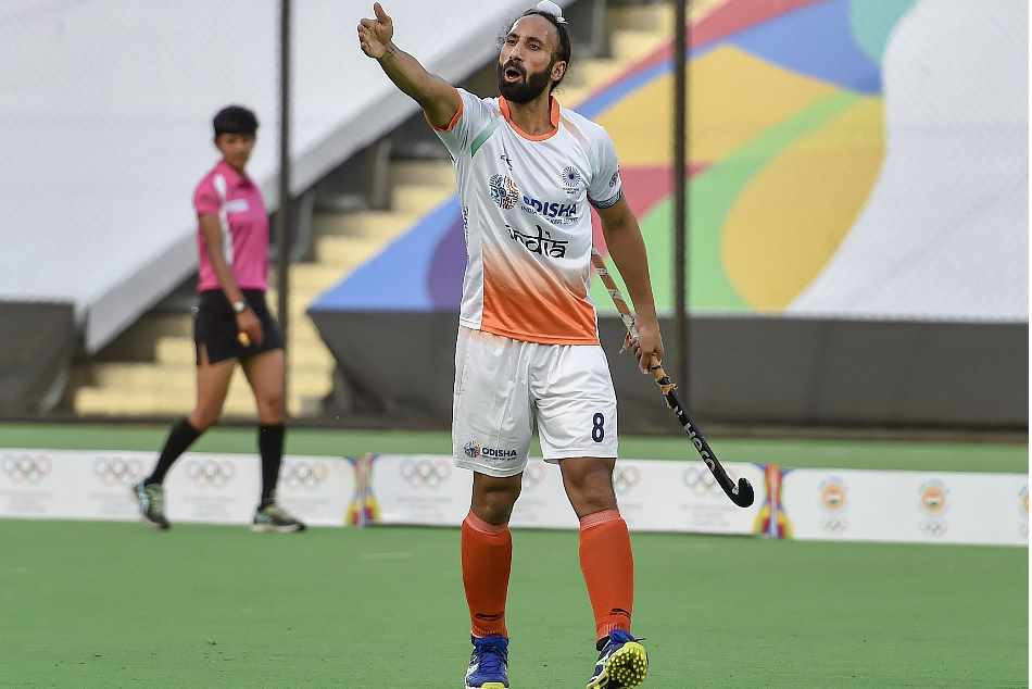 Champions Trophy Hockey India Beat Argentina By 2 1 In 300th Game Of Sardar Singh