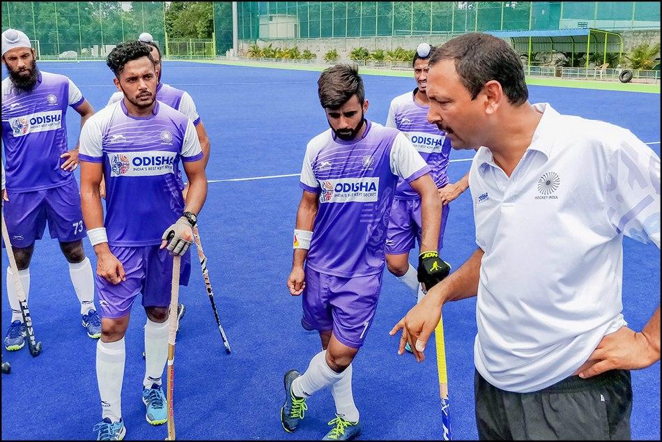 Indian Hockey Team First Match Against Pakistan