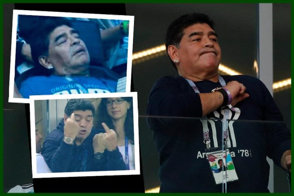 Diego Maradona Reacts On Messi Goal Video Viral