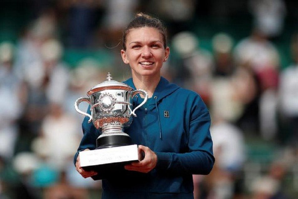 simona halep won her first grand slam title