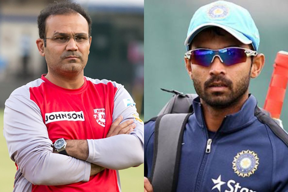 virendra sehwag special birthday message for rahane