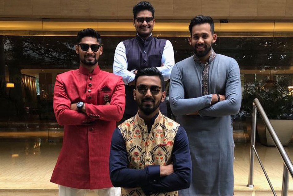 KL Rahul steals the show at his friend Mayank Agarwals marriage