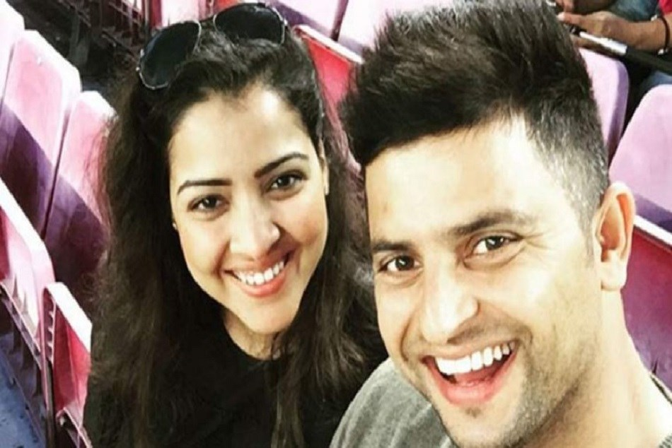 Suresh Raina Hails His Wife On Her Birthday