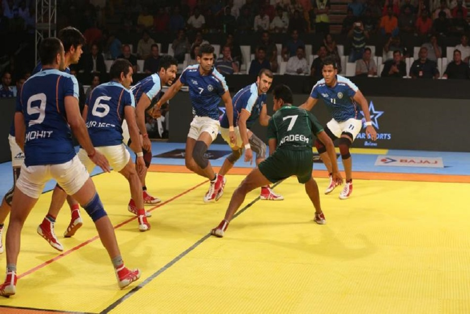 India defeated pakistan in kabaddi match