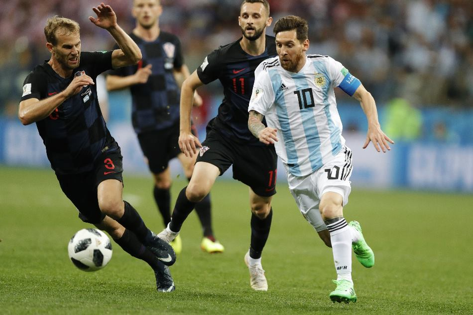 Fifa World Cup 2018 Argentina Vs Croatia Highlights Croatia Dominated Argentina By 3