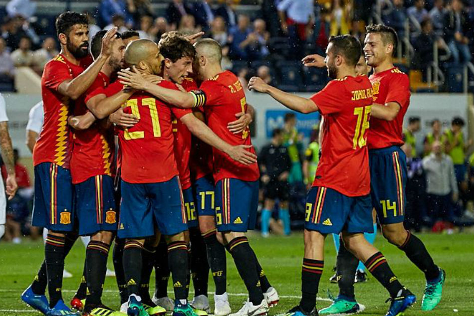 Unbeaten Spain will look to put behind 2014 horror show