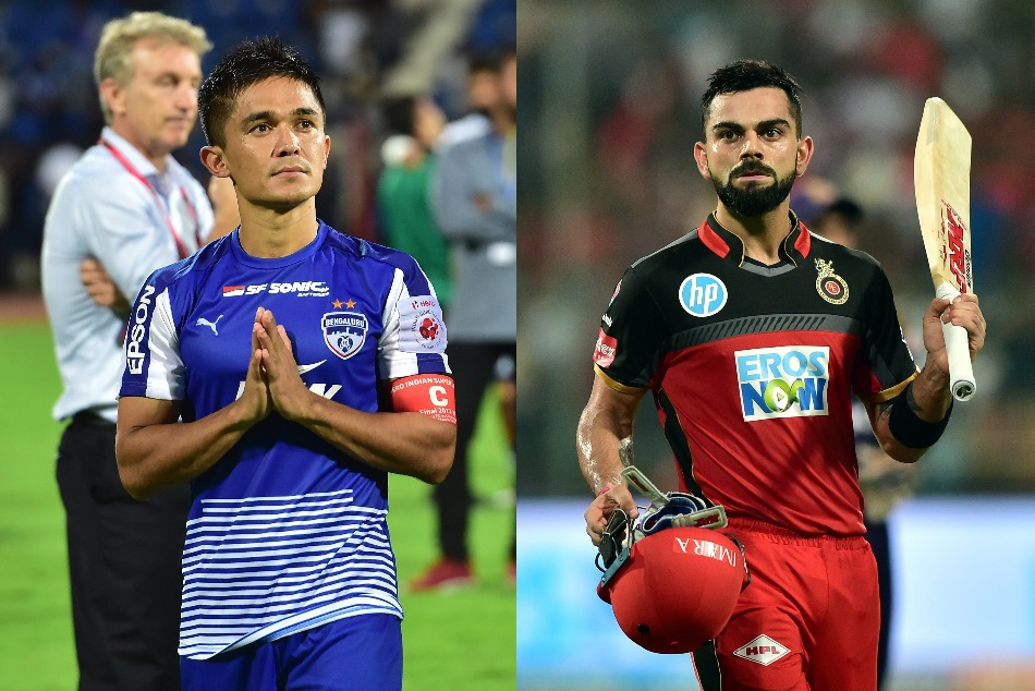 Watch Virat Kohli Backs Sunil Chetri Appeals Fans Support Indian Football Team