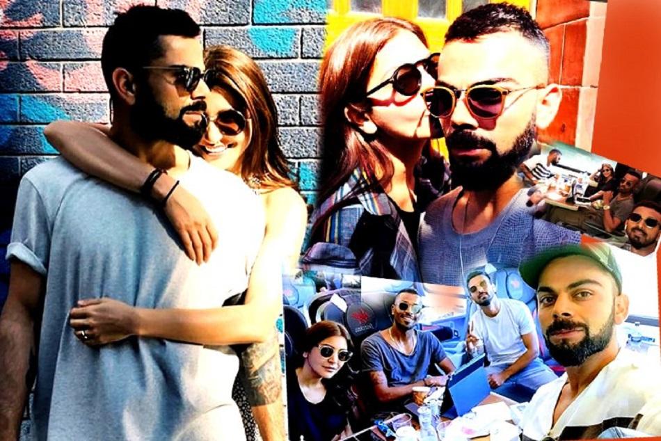 Anushka Sharma Romance With Virat Kohli England