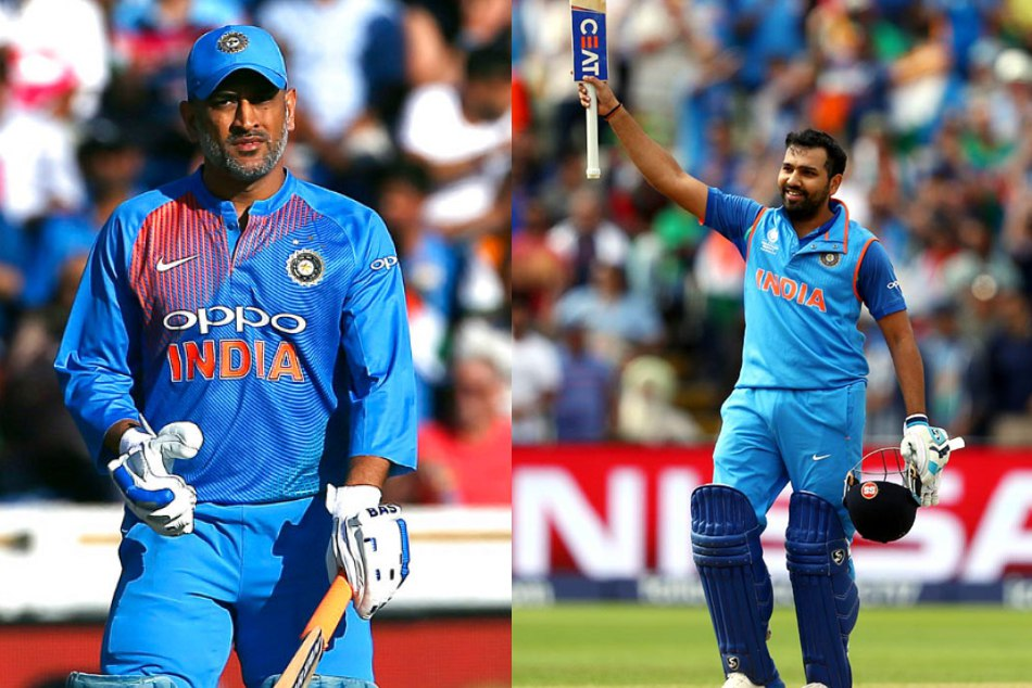 ms dhoni and rohit sharma makes many records for india