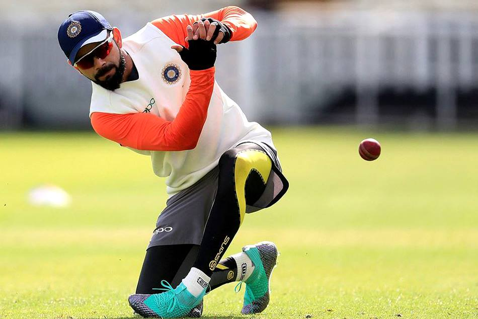 Virat kohli during India england series