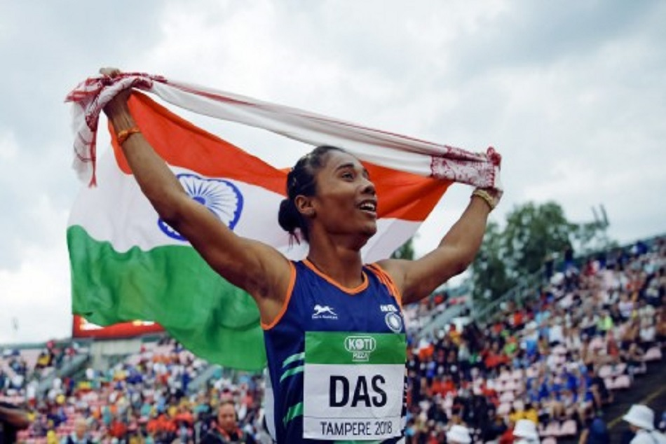 Bollywood celebrities congartulate hima das for her gold