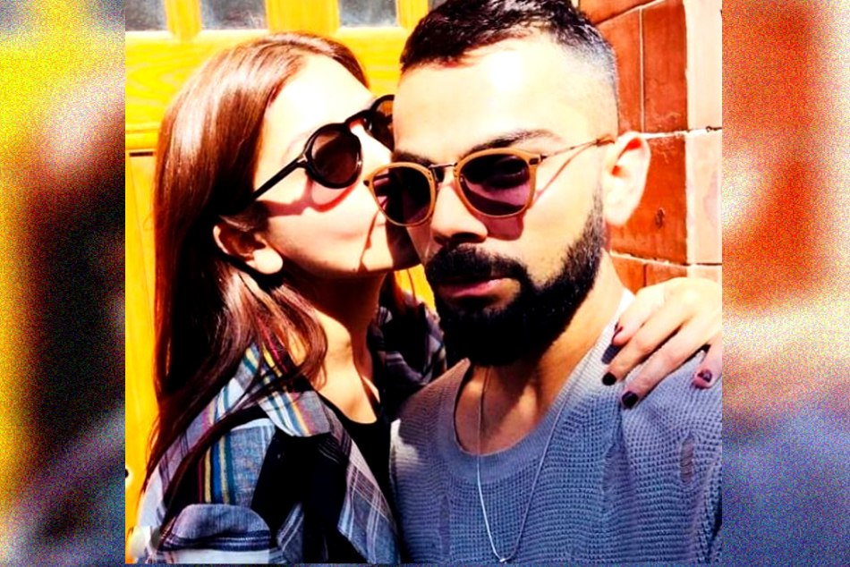 virat kohli shared a photo with anushka sharma