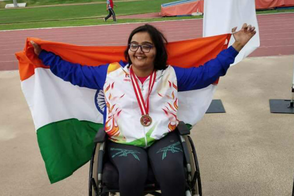Indias Ekta wins a gold and bronze at World Para Athletics Grand Prix in Tunisia