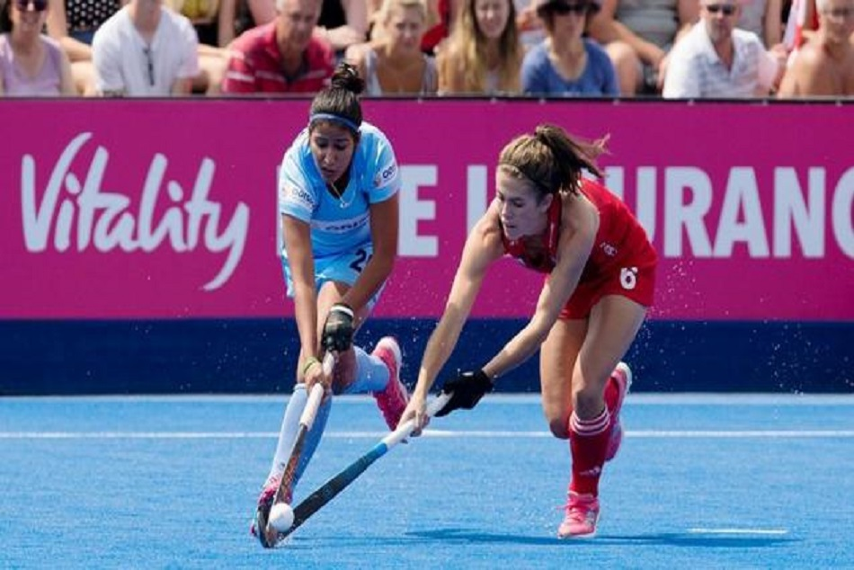 women hockey world cup india england played draw