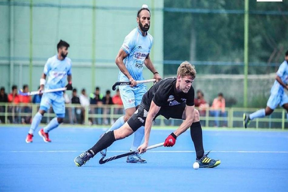 हॉकीः न्यूजीलैंड को हराकर भारत ने तीन मैचों की टेस्ट सीरीज पर किया कब्जा