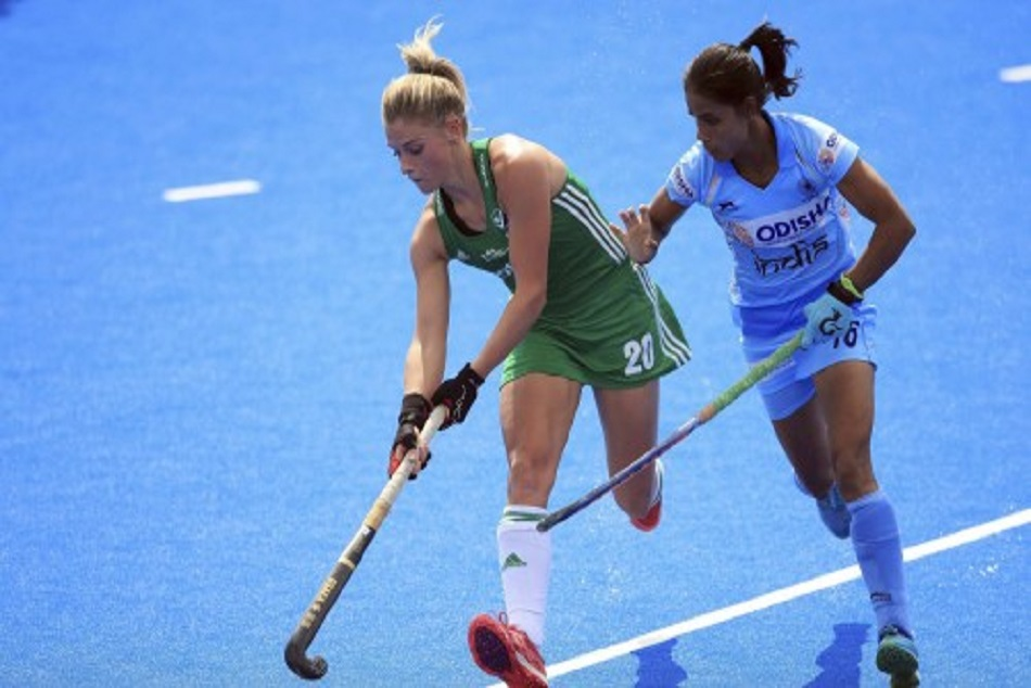 Ireland Beats Indian by 1-0 in women Hockey World Cup