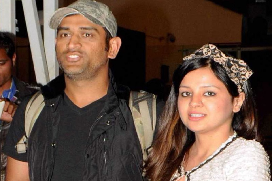Ms dhoni dancing with sakshi dhoni,video viral