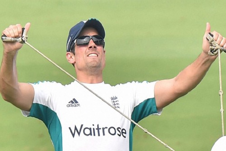Alastair Cook goes down after passing yo-yo test for test series