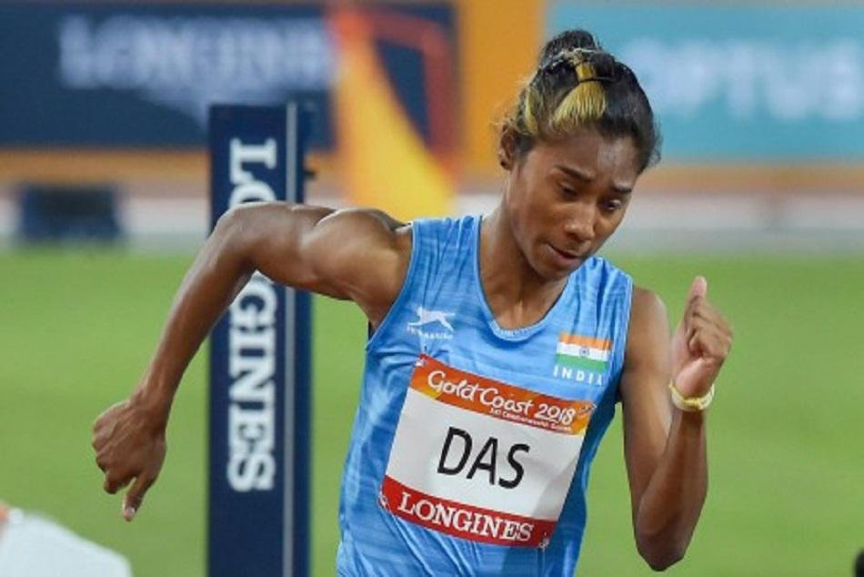 hima das said thanks to pm modi and all watch video