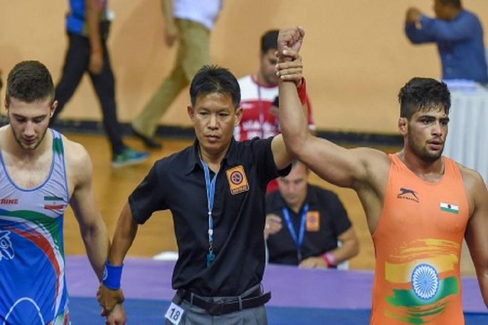 Sajan Won Gold Medal Asian Junior Championship