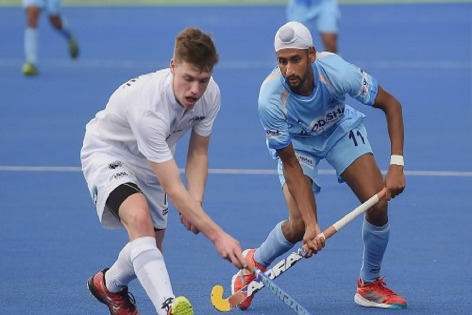 indian hockey team clean sweap the test series against newzealand