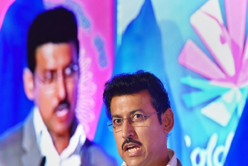 Rajyavardhaan Singh Rathore Appeals Corporate Help Sports