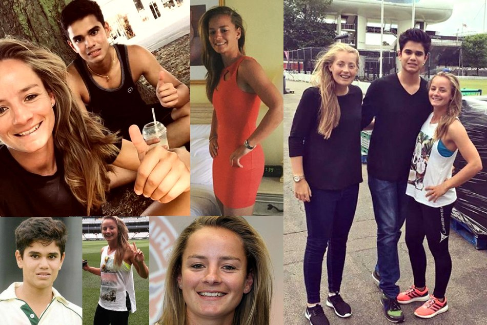 Arjun tendulkar dating with danielle wyatt in england pics viral