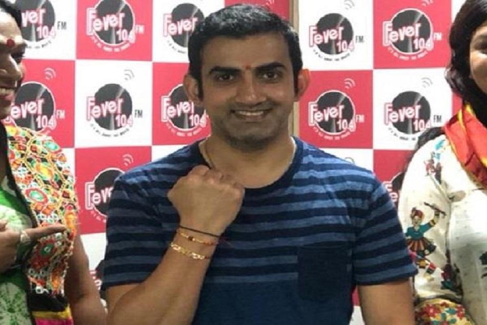 Cricket Star Gautam Gambhir Tied Rakhi With Transgender Delh