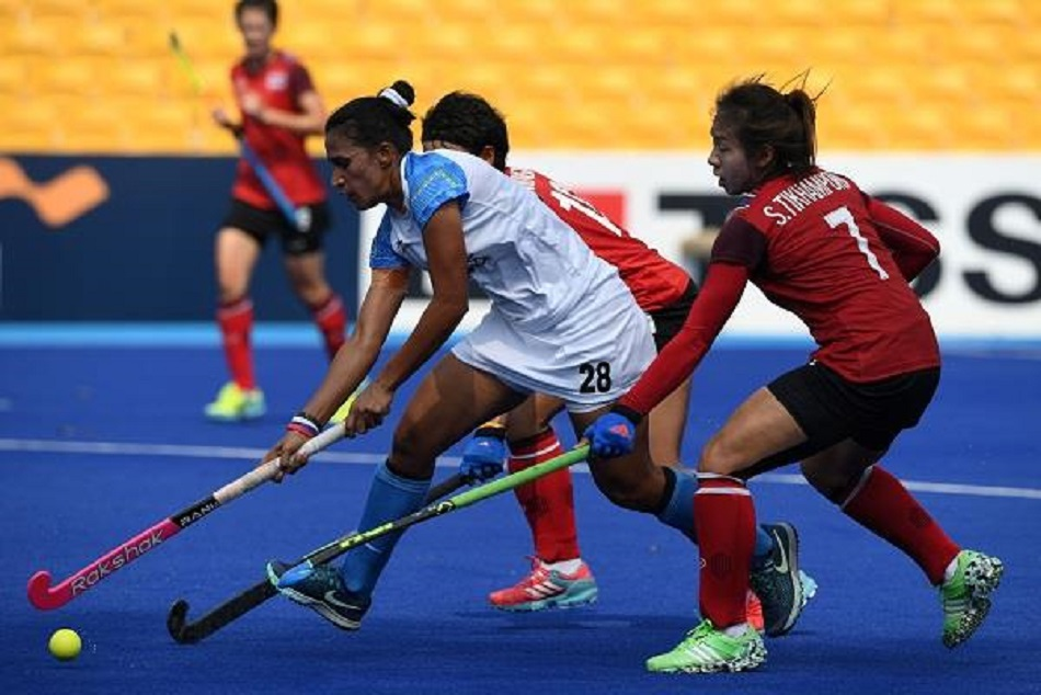 Rani Rampal Slams Thailand Hockey Team Won 5 0