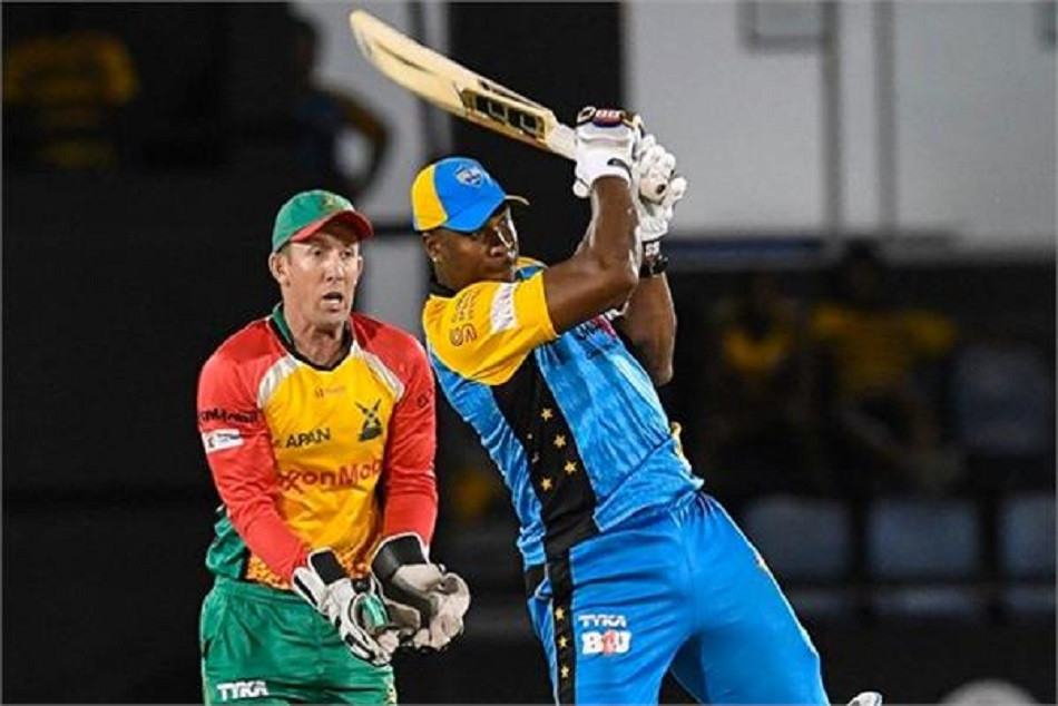 Kieron Pollard Hit 30 Run One Over Cpl