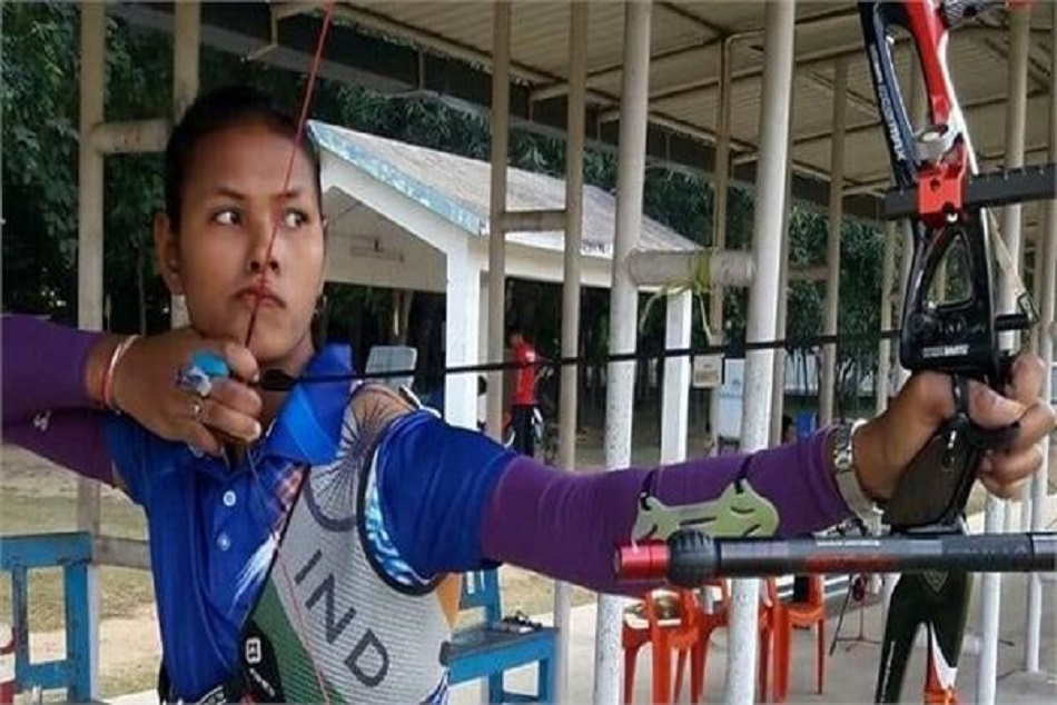 men and women archery team in final of asian games 2018