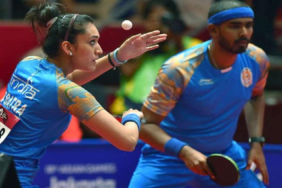 manika sharath won bronze in table tennis asian games 2018