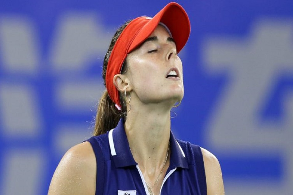 French Tennis Player Alize Cornet Gets Violation After Shirt