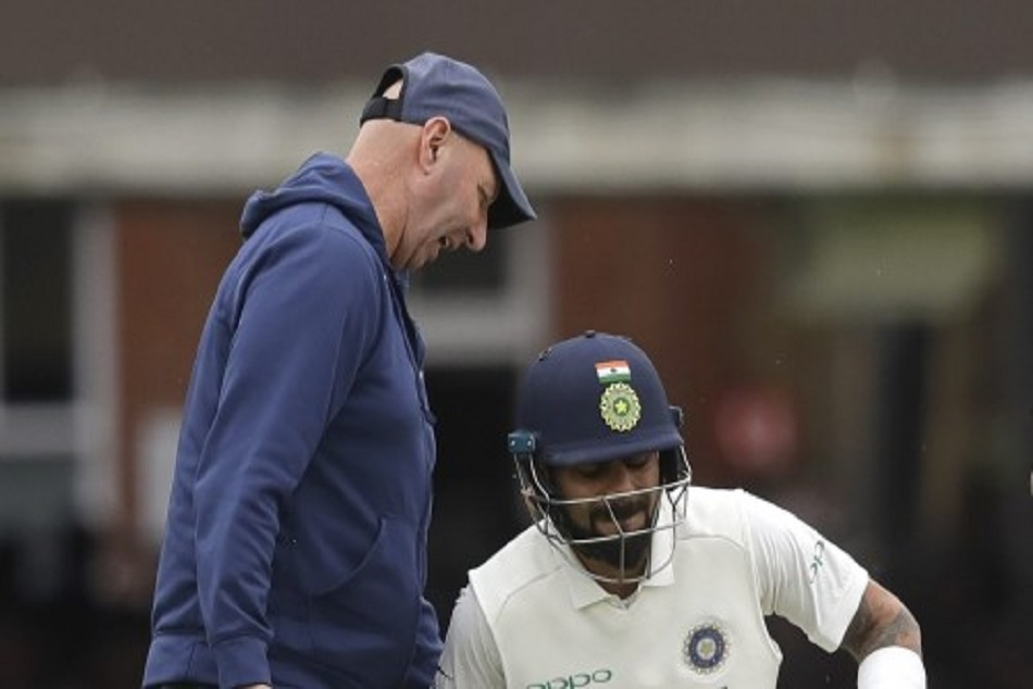 Virat Kohli Is Ijured England Test Match Lords Lower Back Pa