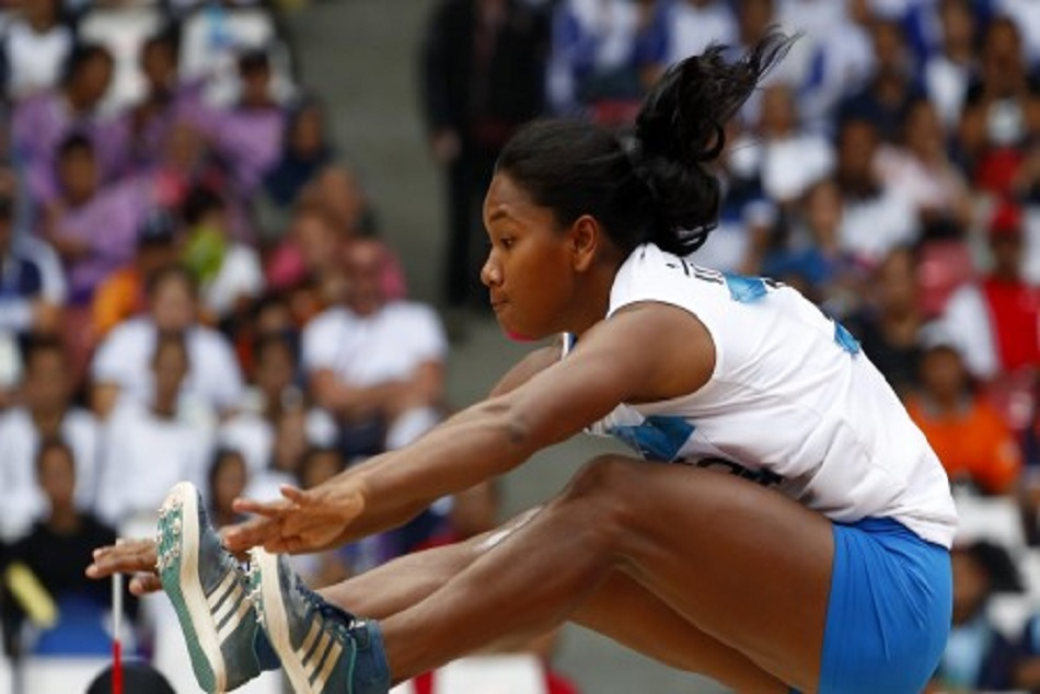 Swapna berman won gold in heptathlon asian games 2018
