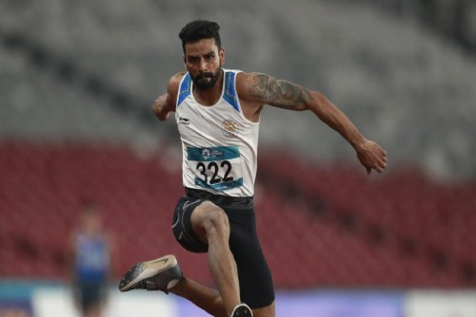 arpinder singh won gold in mens triple jump asian games 2018